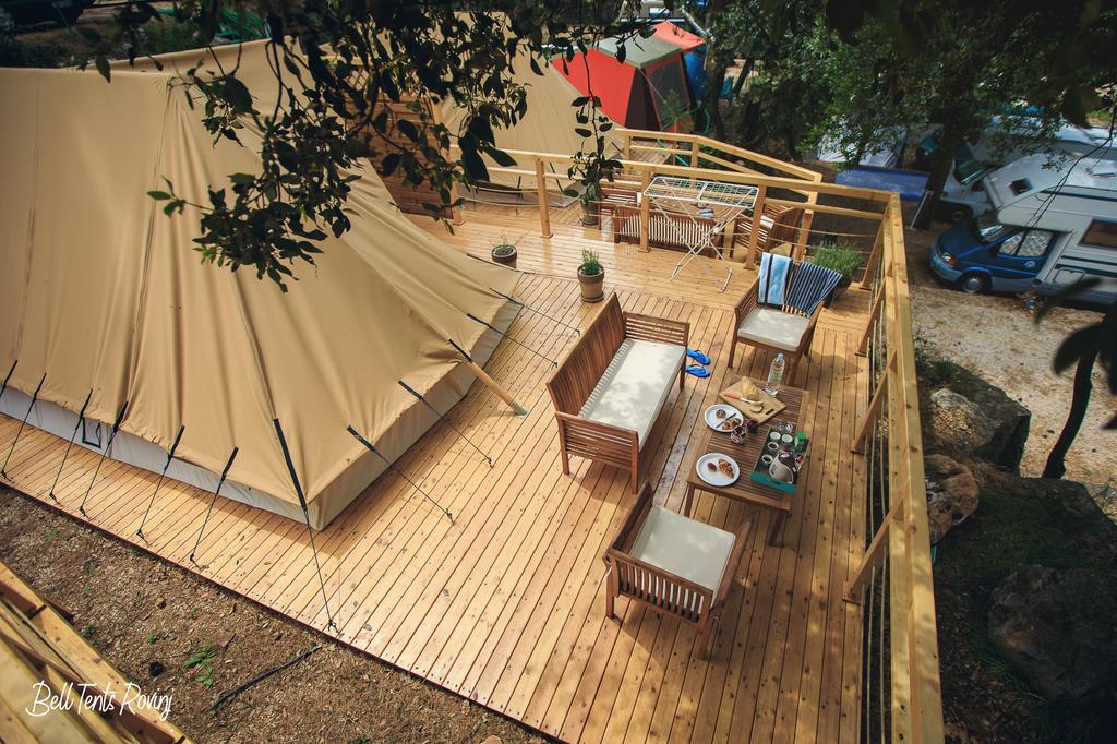 Bell tents Galmping Rovinj Croatia