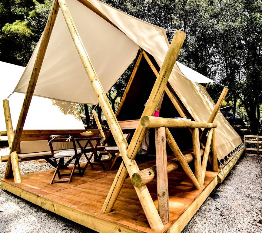 Glamping tent Jugo Rovinj Croatia