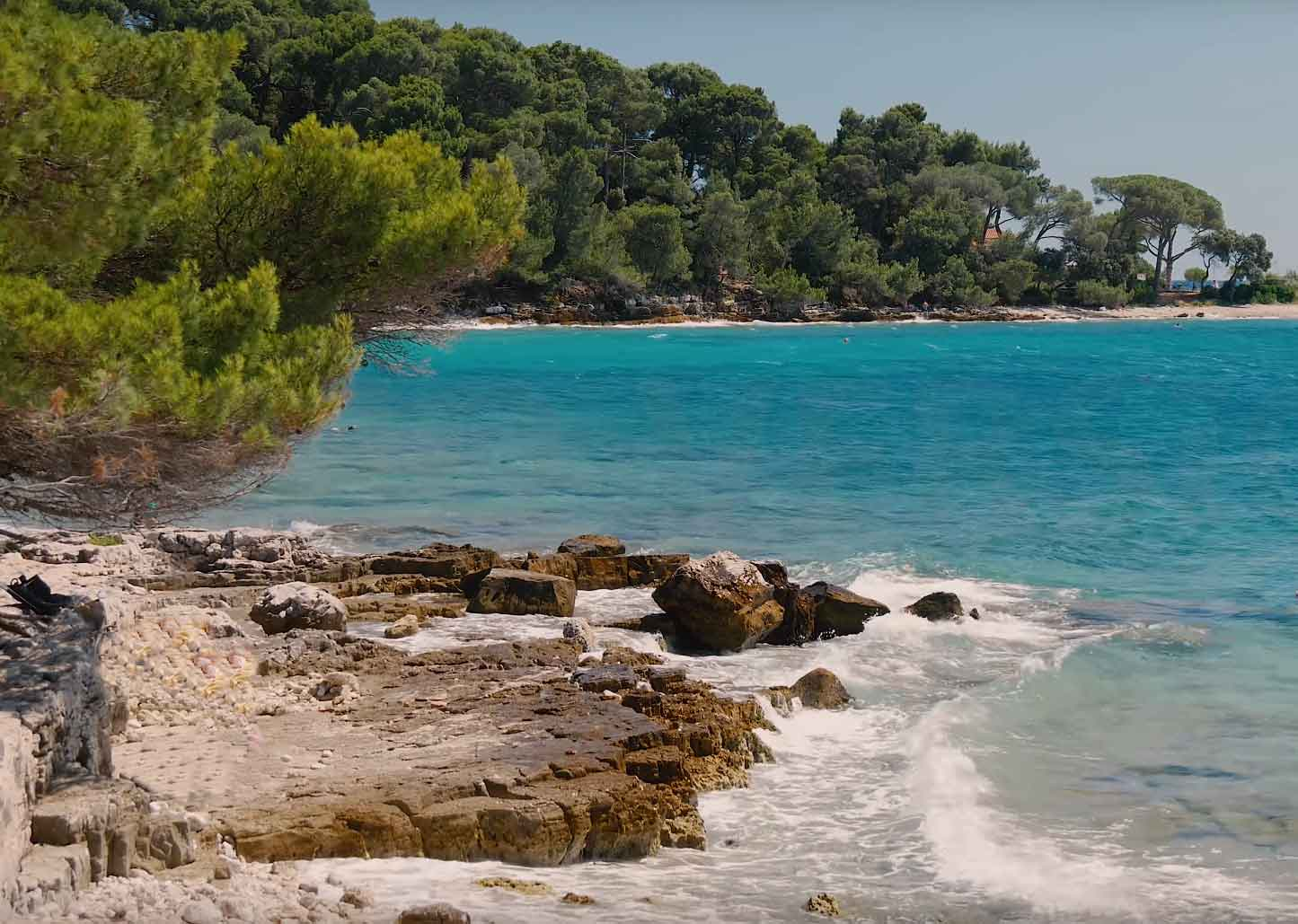 Golden-Cape-(Zlatni-rt)-Beach Rovinj Croatia