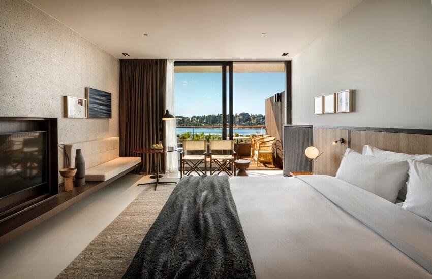 Grand Park Hotel premium sea view room