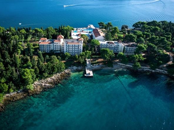 Island Hotel Katarina on St. Catherine Island (Rovinj, Croatia)