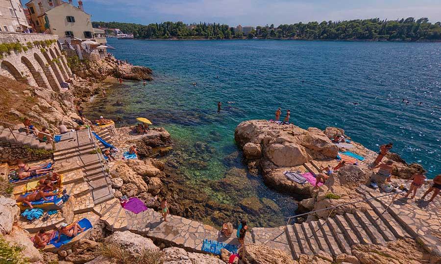 Monte-Balota-Beach-Rovinj-Croatia