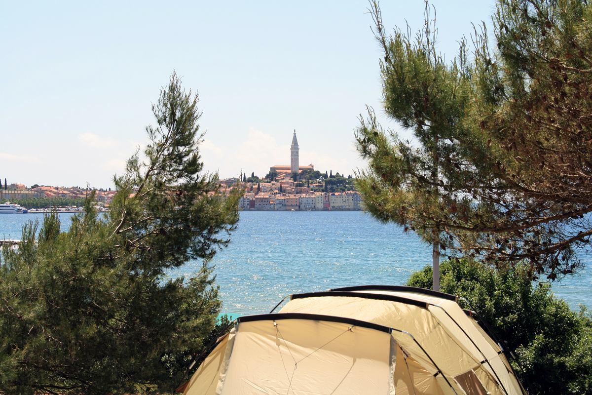 Porton Biondi Camping Rovinj Croatia