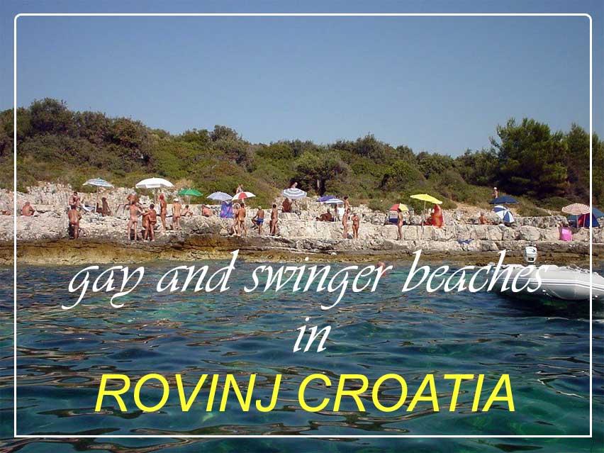 Rovinj Croatia gay and swinger beaches