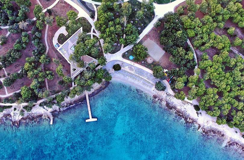 Valdaliso Beach Rovinj Croatia