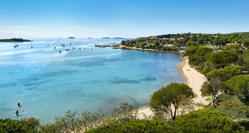Veštar Beach Rovinj Croatia