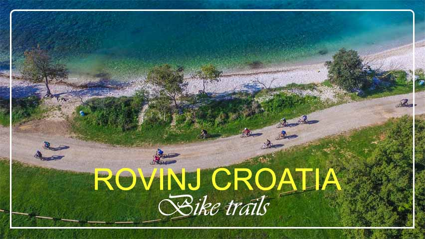 Bike Trails in Rovinj Croatia